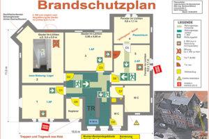 Muster Brandschutzplan
